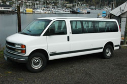 New Prince of Wales Sportfishing Passenger Van for 2010